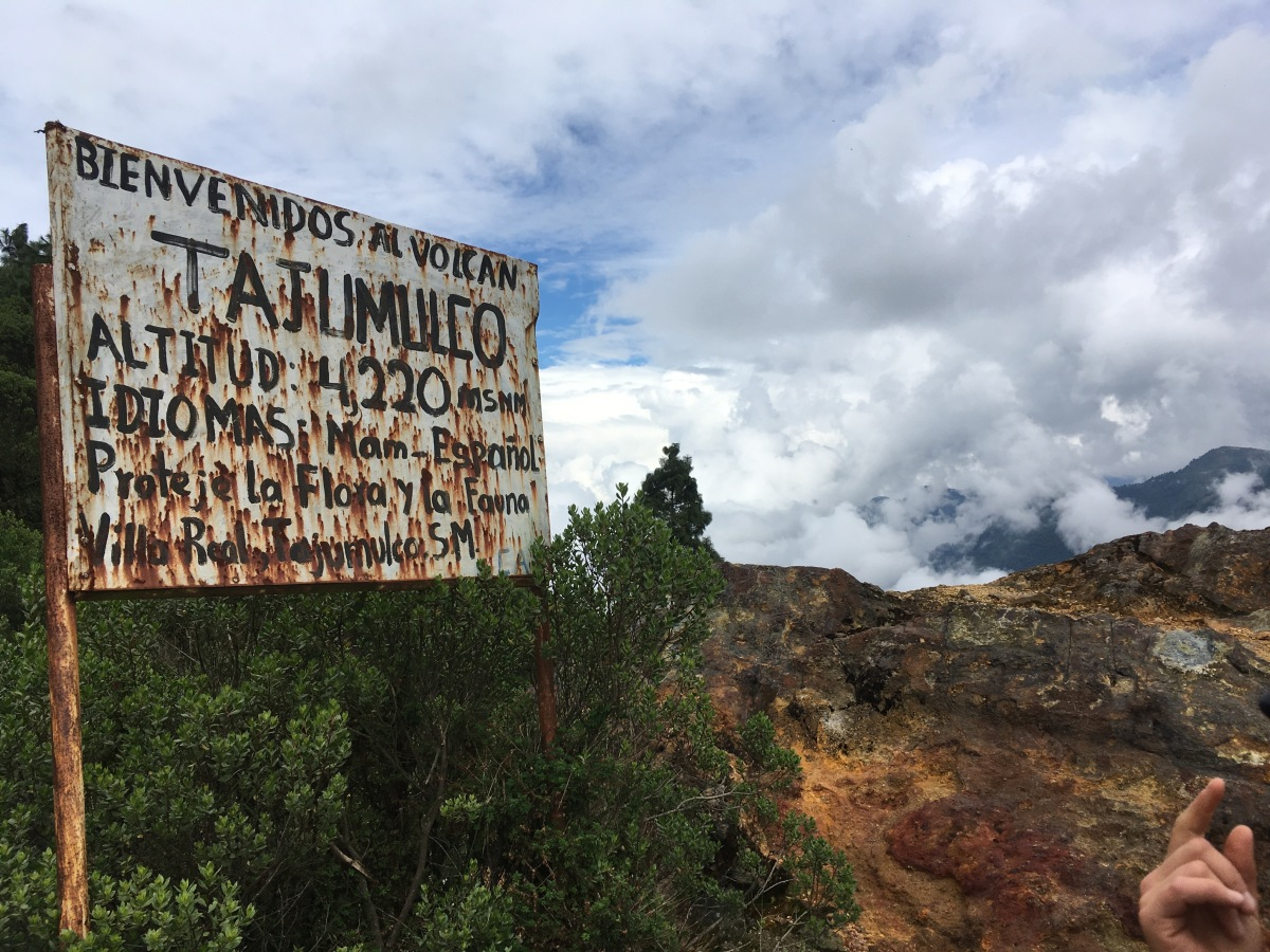 Bumping My Head on the Roof of Central America: Volcán Tajumulco, Saúl, andSaúl