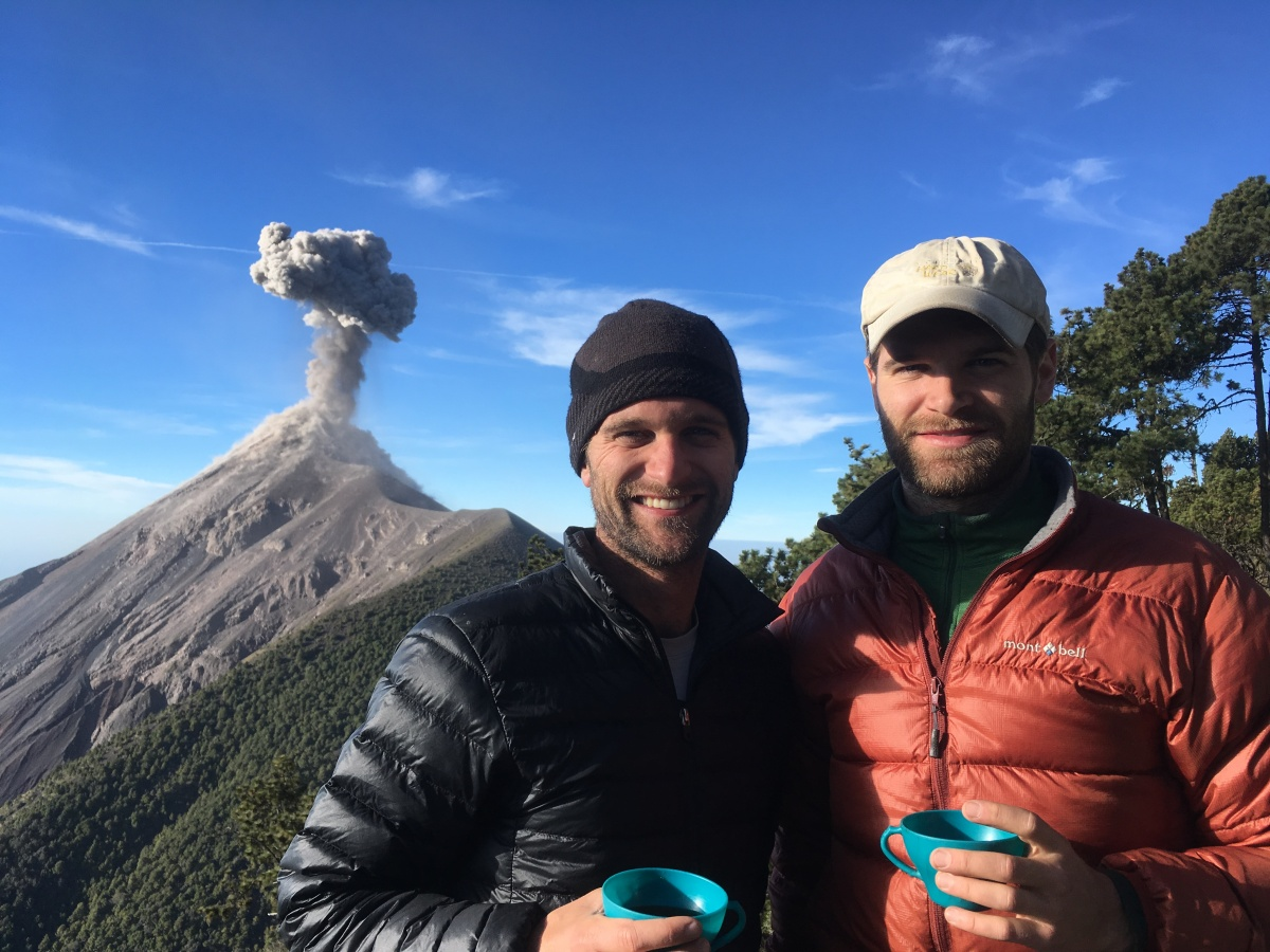 Dos Hermanos in Guatemala: From the Underwater River of Semuc Champey to the Slopes of the Angry Volcán Fuego